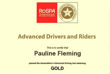 Congratulate Pauline!